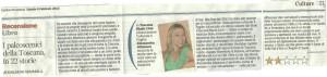 Corriere fiorentino, 9 febbraio 2013, recensione di Edoardo Semmola