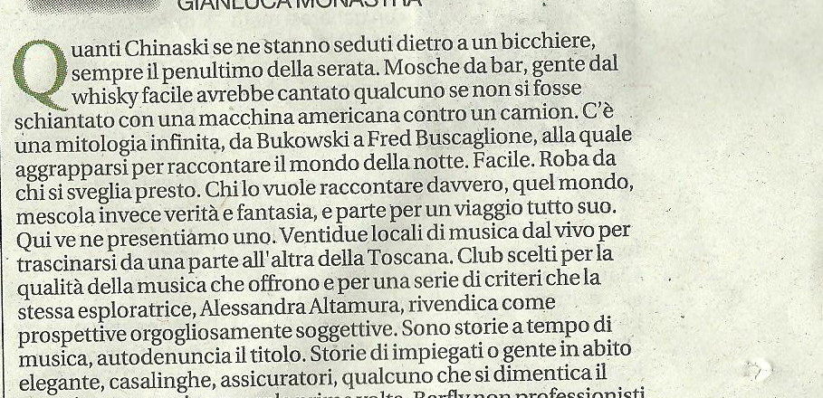 Repubblica 17 febbr 2013, recensione di Gianluca Monastra